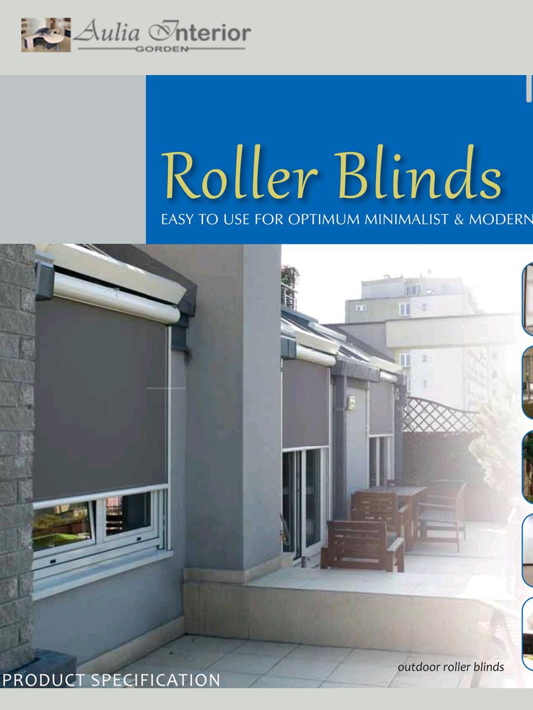 jual roller blind